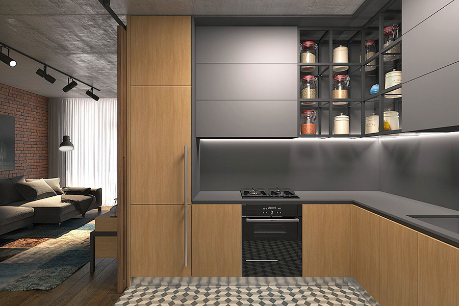 Idee di design per arredare un piccolo appartamento n.19