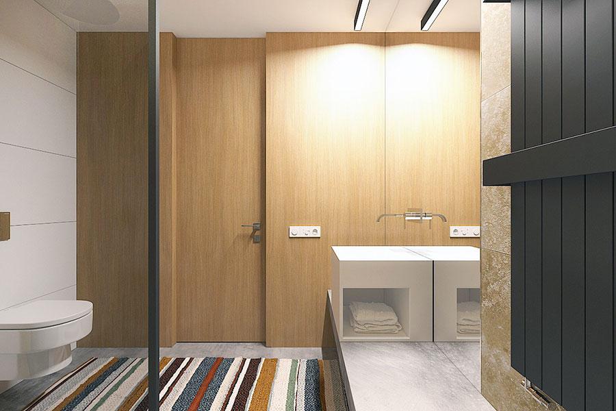 Idee di design per arredare un piccolo appartamento n.21