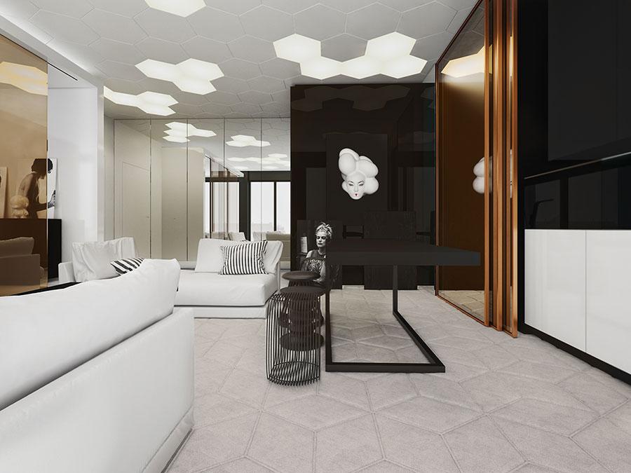 Idee di design per arredare un piccolo appartamento n.32