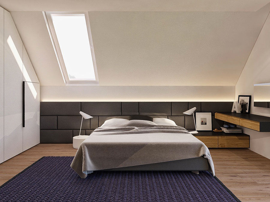 Camera da Letto in Mansarda: 20 Idee di Arredamento ...