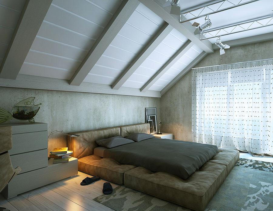 Camera da Letto in Mansarda: 20 Idee di Arredamento | PCase ...