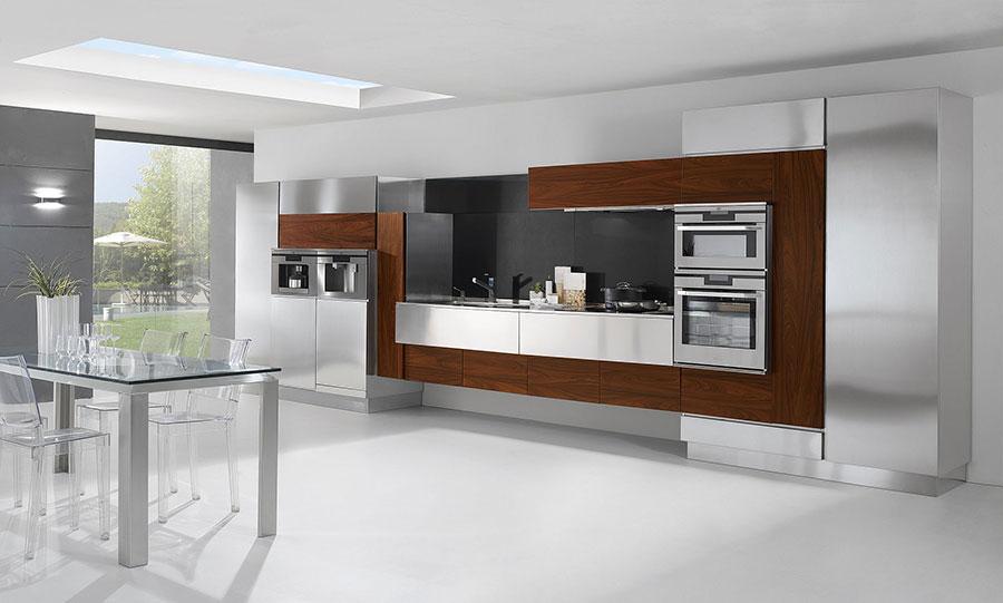 20 Cucine in Acciaio dal Design Moderno con un Tocco ...