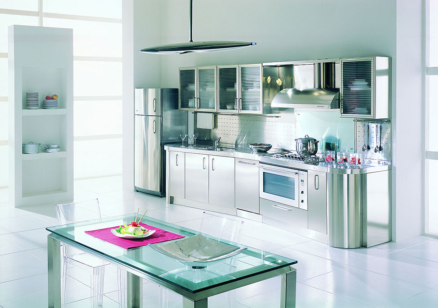 Stunning Cucine In Acciaio Prezzi Pictures - bery.us - bery.us