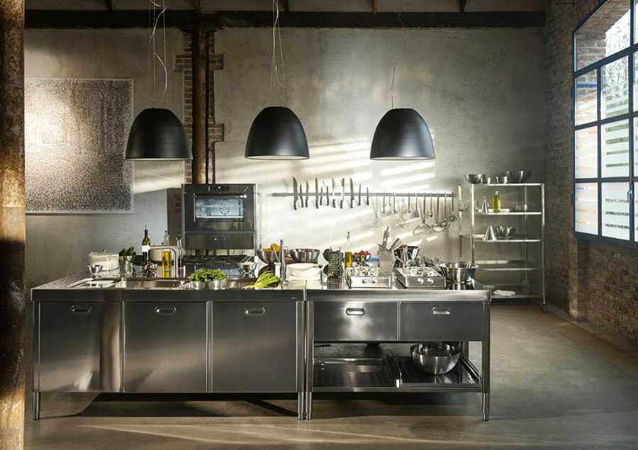 Favorito Cucine Stile Industriale. Latest Next Se Amate Le Cucine In Stile  AH02