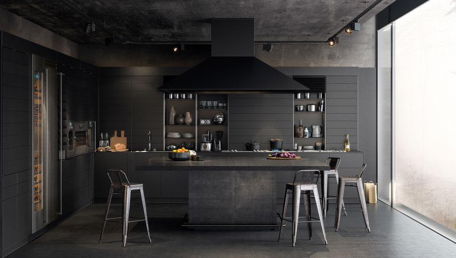 Cucine Moderne Scure.Cucine Nere Di Design 30 Modelli Che Vi Conquisteranno