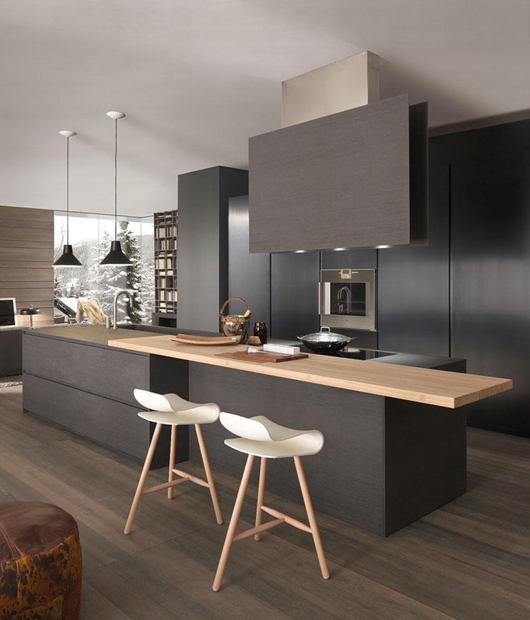 Cucine Nere di Design: 30 Modelli che vi Conquisteranno | MondoDesign.it