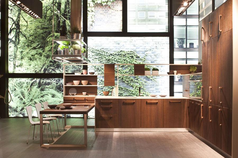 Cucina arredata in stile giapponese n.03
