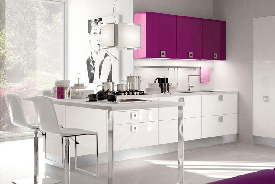20 modelli di cucine viola delle migliori marche - La cucina di martina ...