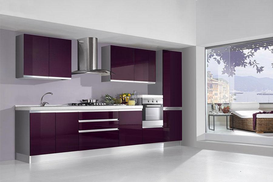 20 Modelli di Cucine Viola delle Migliori Marche | MondoDesign.it