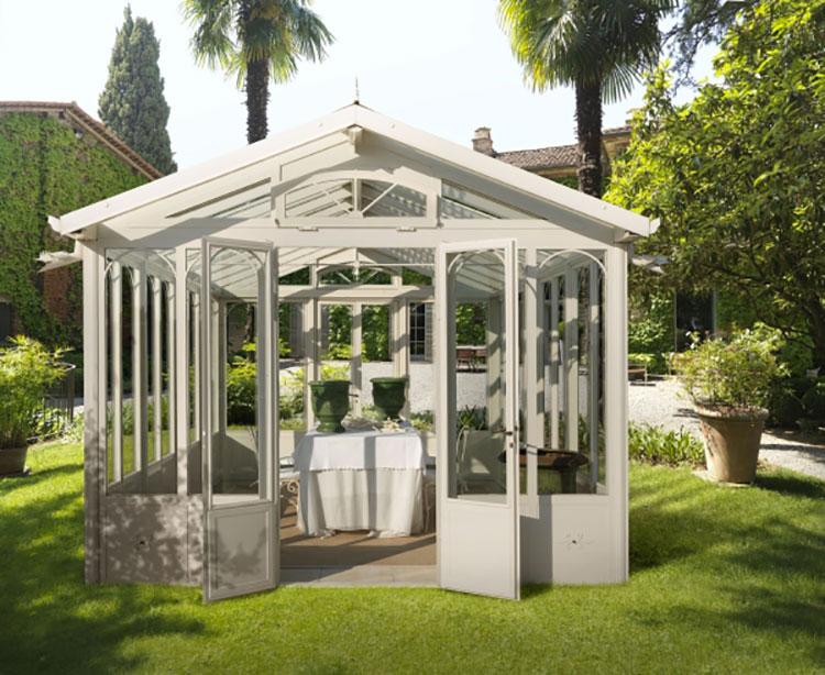 Modello di giardino d'inverno o veranda n.18