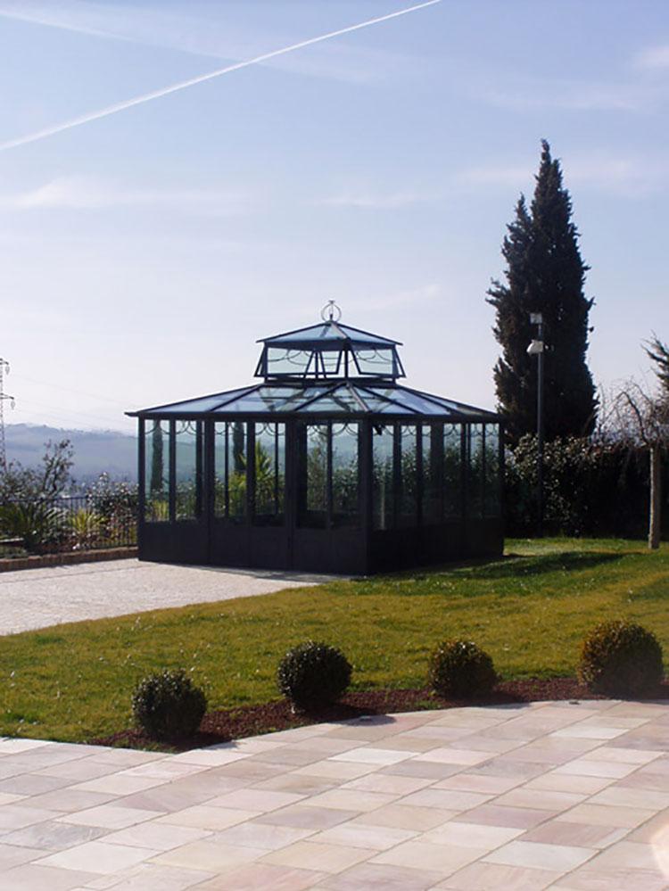 Modello di giardino d'inverno o veranda n.19