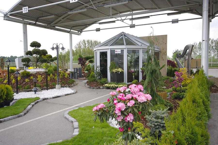 Modello di giardino d'inverno o veranda n.23