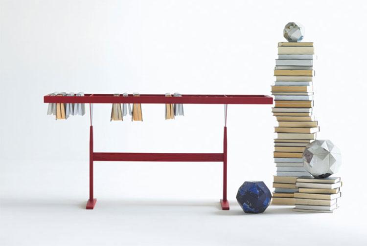 Modello di libreria dal design particolare n.01