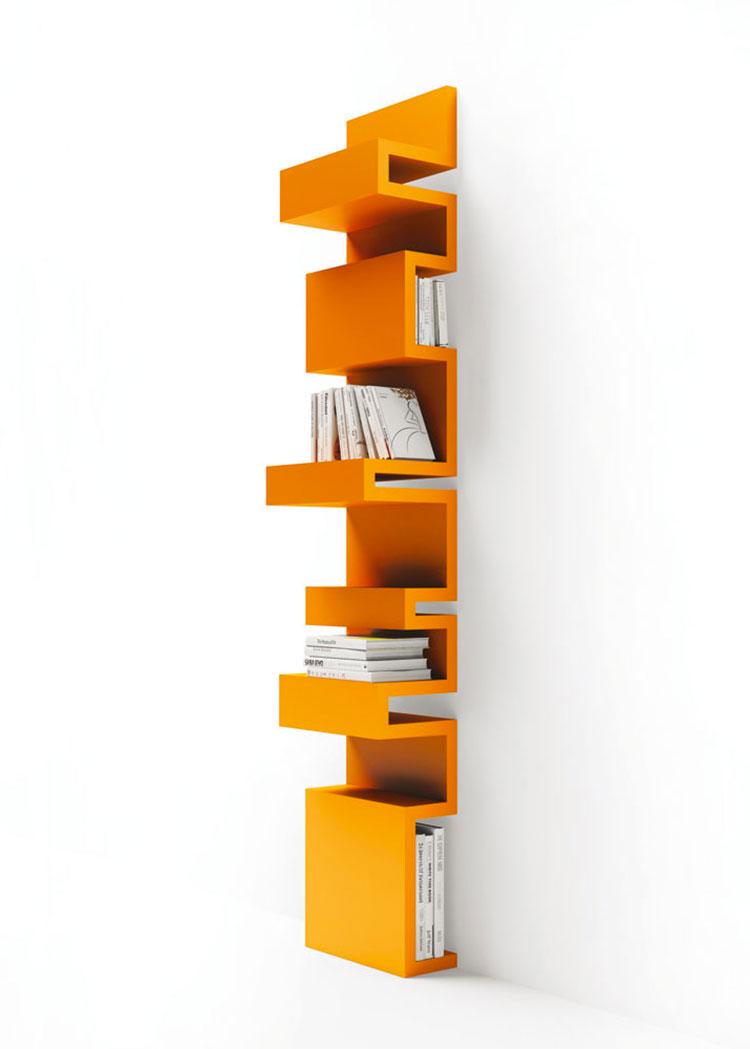 Modello di libreria dal design particolare n.05