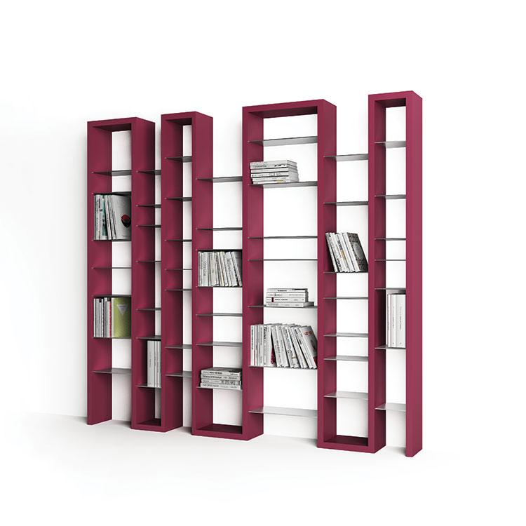 Modello di libreria dal design particolare n.07