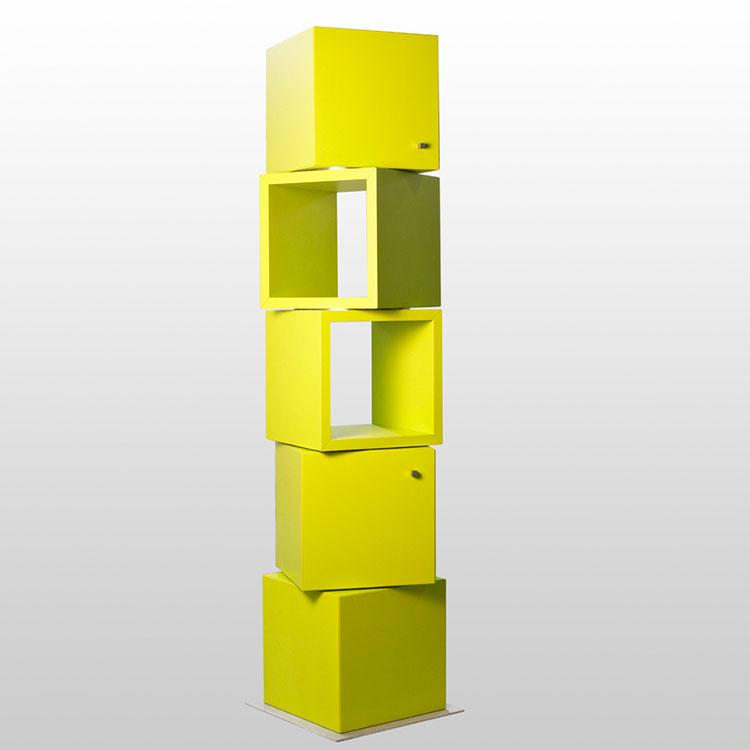 Modello di libreria dal design particolare n.10