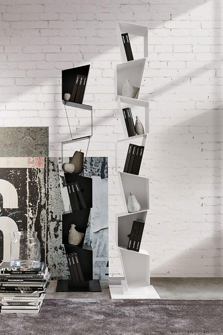 Modello di libreria dal design particolare n.12