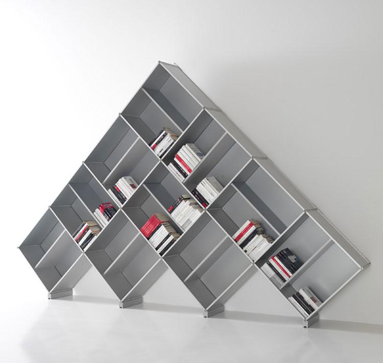 Modello di libreria dal design particolare n.25