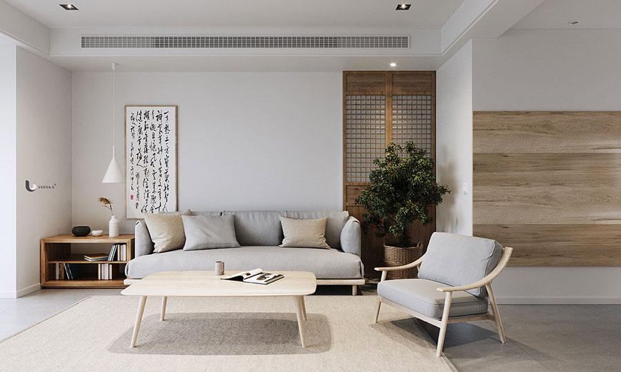 Come arredare un open space in stile giapponese n.01
