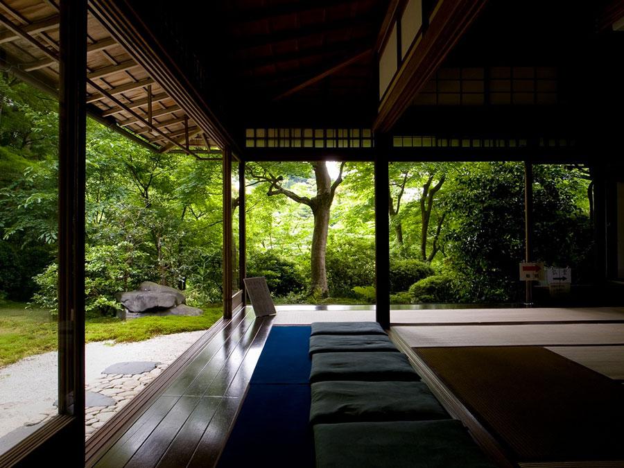 Patio arredato in stile giapponese n.02