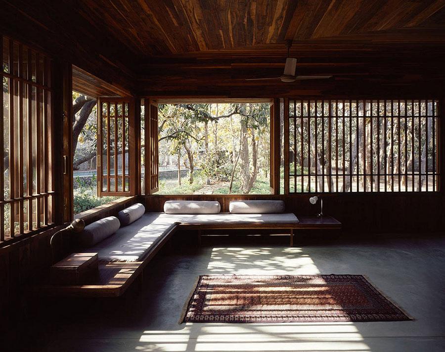 Patio arredato in stile giapponese n.03