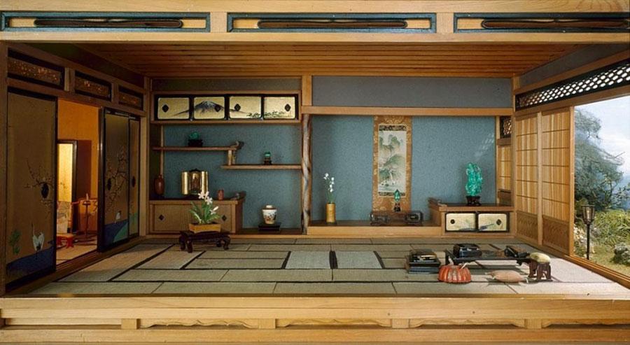 Patio arredato in stile giapponese n.04