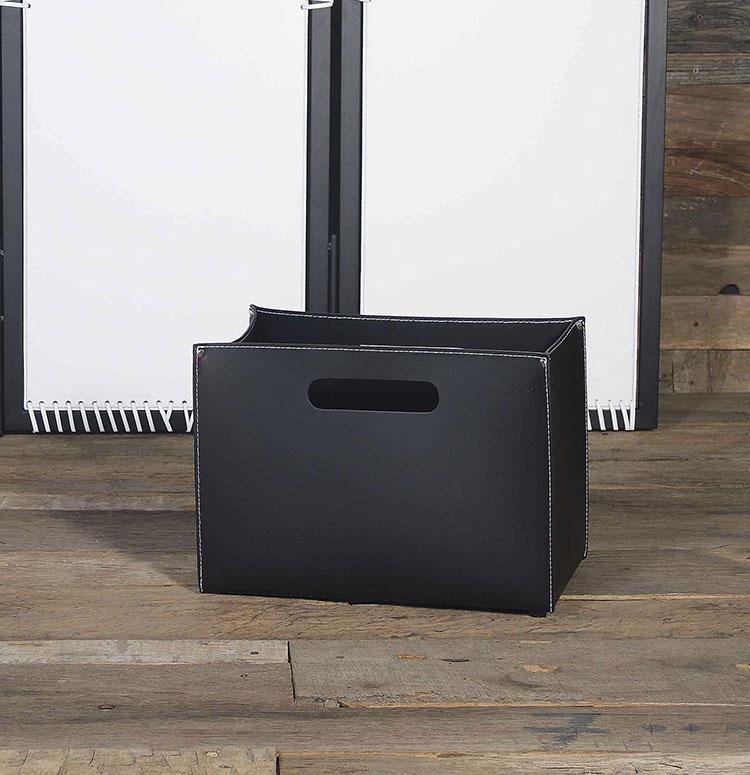 Modello di portalegna da interno dal design moderno n.05