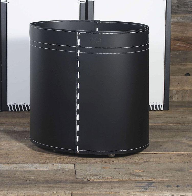 Modello di portalegna da interno dal design moderno n.06
