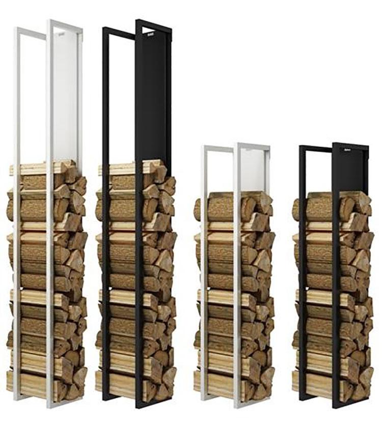 Modello di portalegna da interno dal design moderno n.15