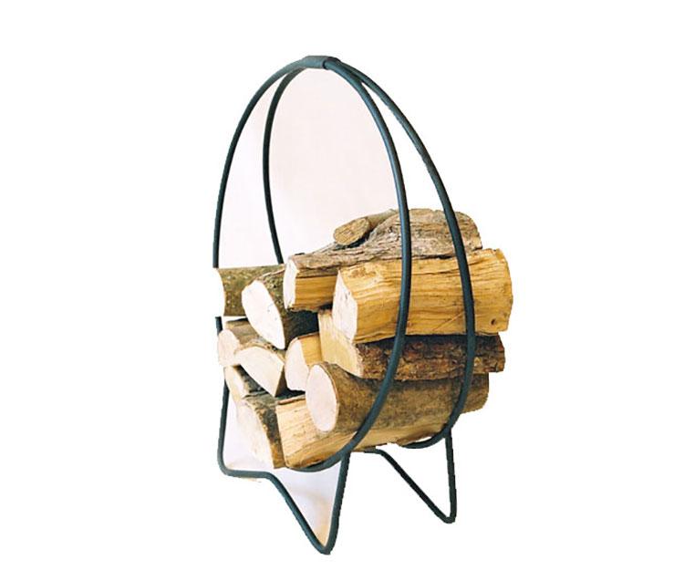 Modello di portalegna da interno dal design moderno n.22