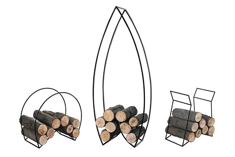 Modello di portalegna da interno dal design moderno n.29