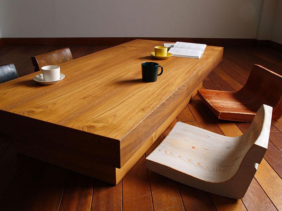 Sala da pranzo arredata in stile giapponese n.05
