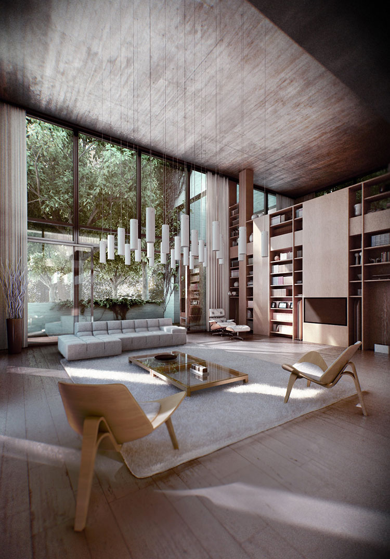Salotto Circolare In Stile Moderno Open Space Interior Design : Come arredare casa in stile giapponese l incontro tra