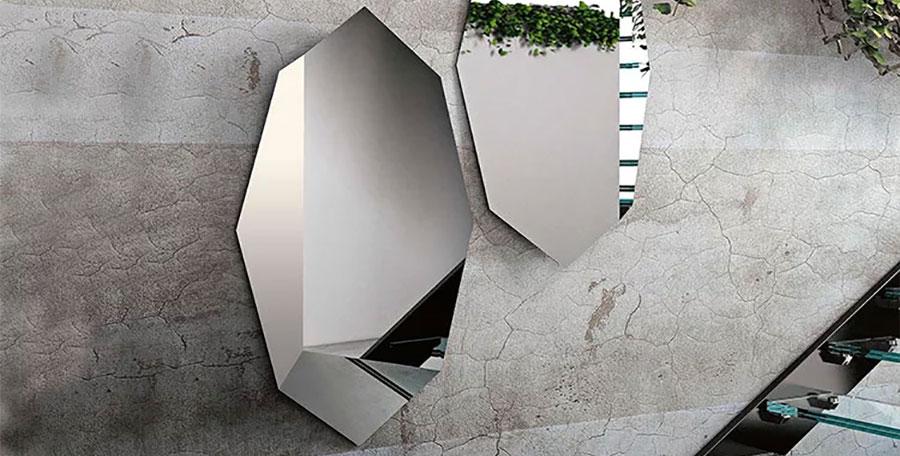 Moderni Specchi Da Parete Particolari.Specchi Di Design Per Ingresso 30 Modelli Decorativi Da Parete Mondodesign It