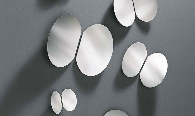 Specchio di design da parete per ingresso n.04