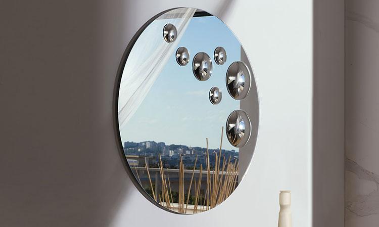 Specchio di design da parete per ingresso n.05