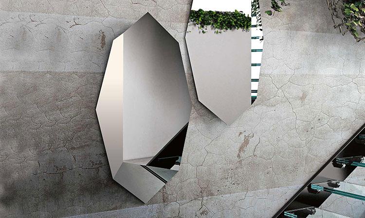 Specchio di design da parete per ingresso n.07