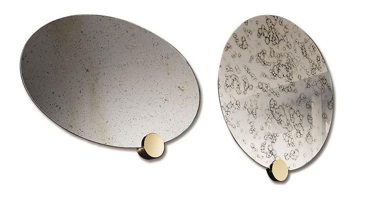 Specchio di design da parete per ingresso n.12