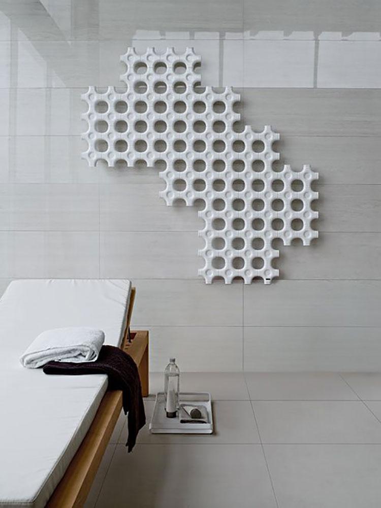 30 termosifoni dal design originale il calore in forme for Termosifoni bagno design