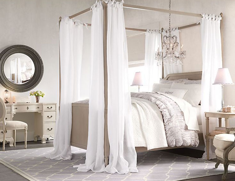 Camerette per bambine in stile country chic ecco 20 idee romantiche - Camerette stile country ...