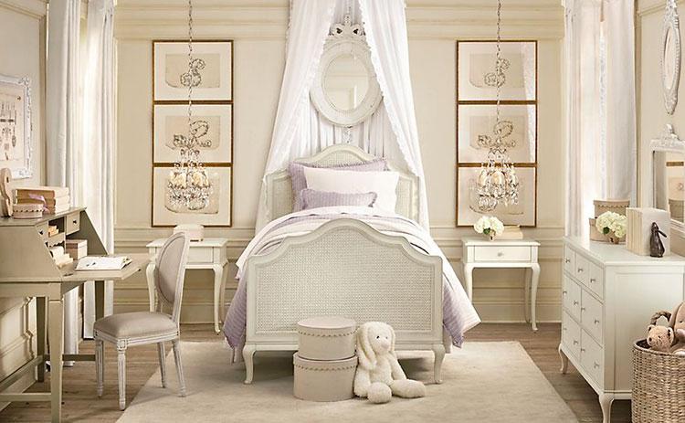 Camerette Per Bambina Romantica. Romantiche Camerette Per Bambini In ...