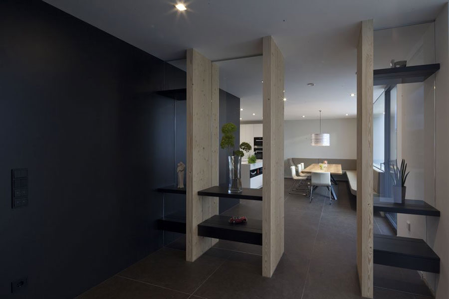Progetto di casa prefabbrica in legno dal design moderno n.04