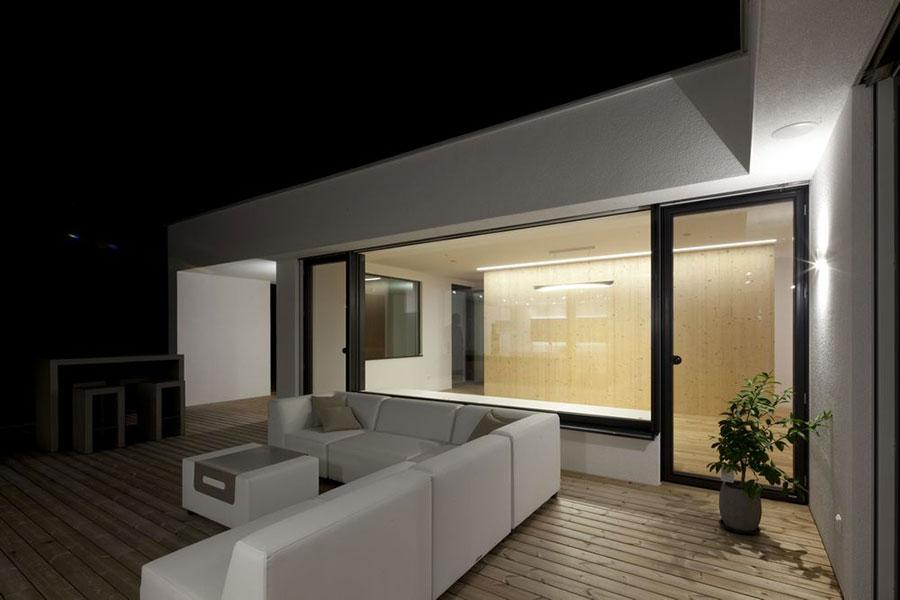 Progetto di casa prefabbrica in legno dal design moderno n.09