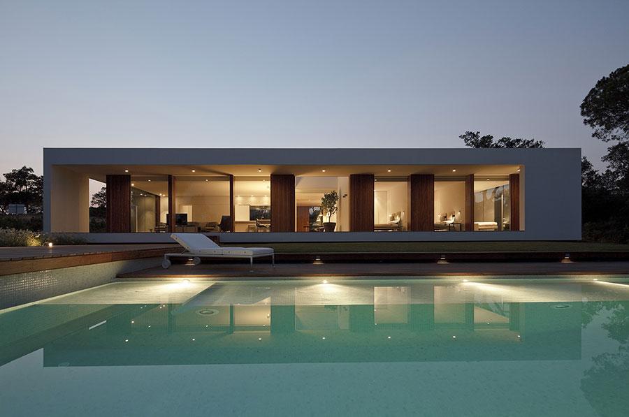 Progetto di casa prefabbrica in legno dal design moderno n.10