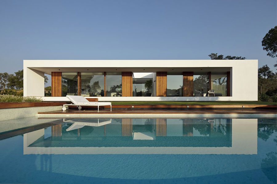 Progetto di casa prefabbrica in legno dal design moderno n.11