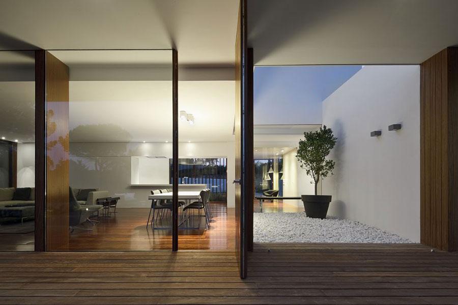 Progetto di casa prefabbrica in legno dal design moderno n.14