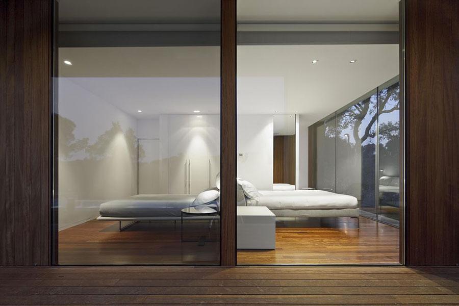 Progetto di casa prefabbrica in legno dal design moderno n.15