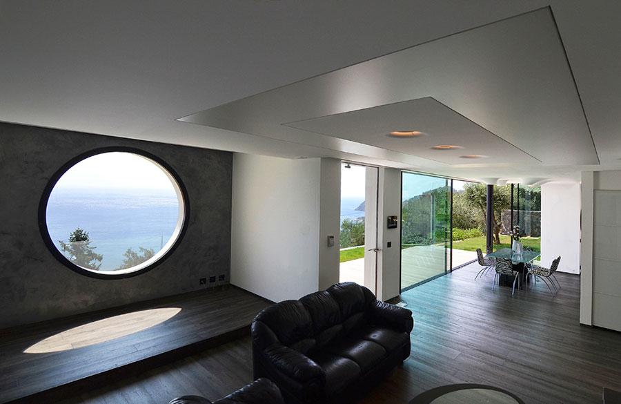 Progetto di casa prefabbrica in legno dal design moderno n.25