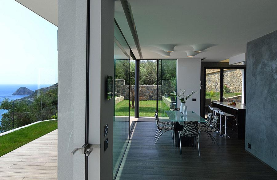 Progetto di casa prefabbrica in legno dal design moderno n.26