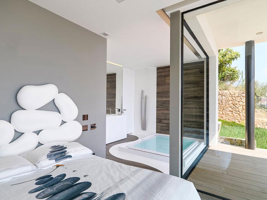 Progetto di casa prefabbrica in legno dal design moderno n.27